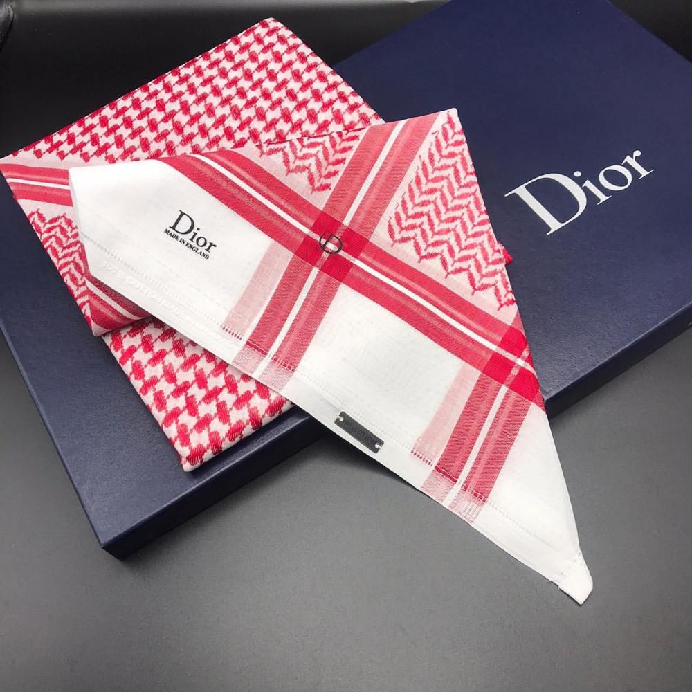 شماغ ديور Dior Shemagh شماغ إنجليزي بخامة قطنية مدونة نيشان