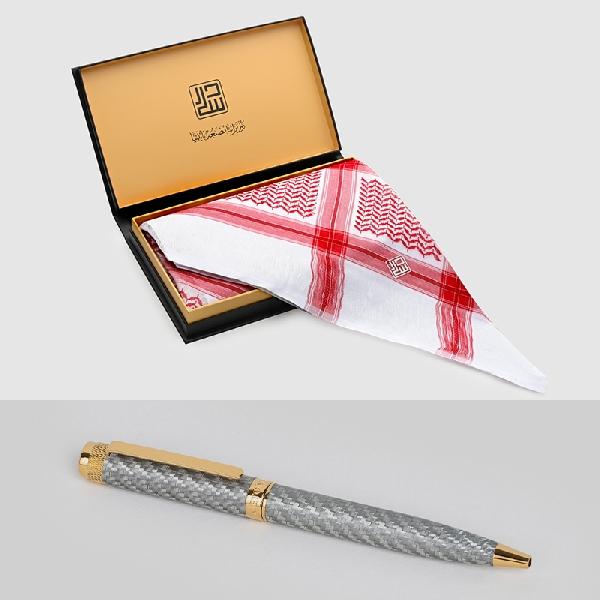 شماغ دسار شلش موديل 2020 مع قلم كاربون فايبر