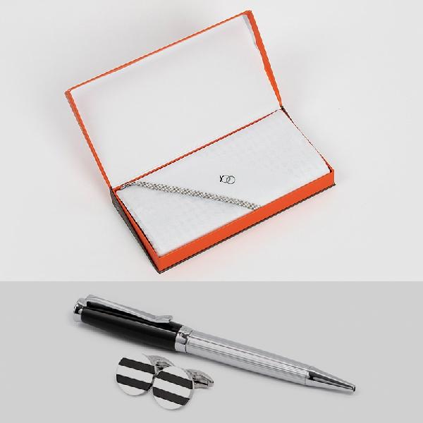 شماغ يوو مكس أبيض مع قلم وكبك