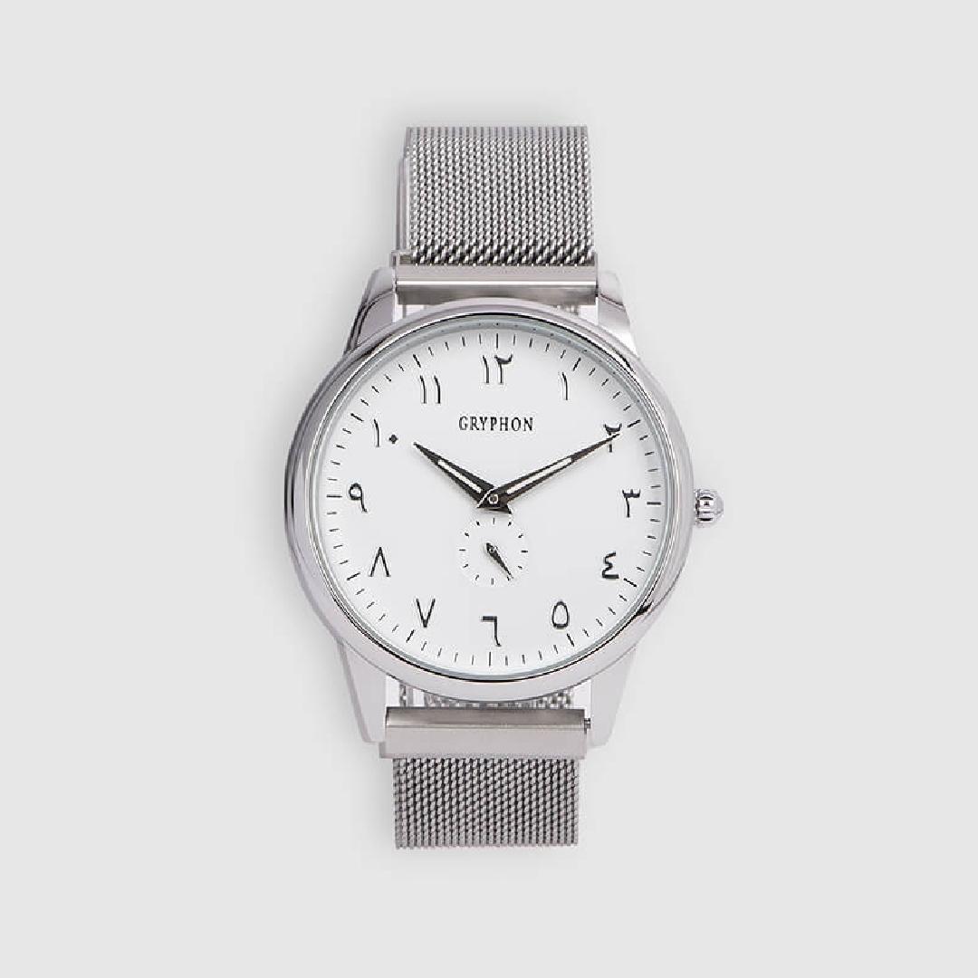 شماغ ليمان طقم جريفون ساعة وقلم وكبك