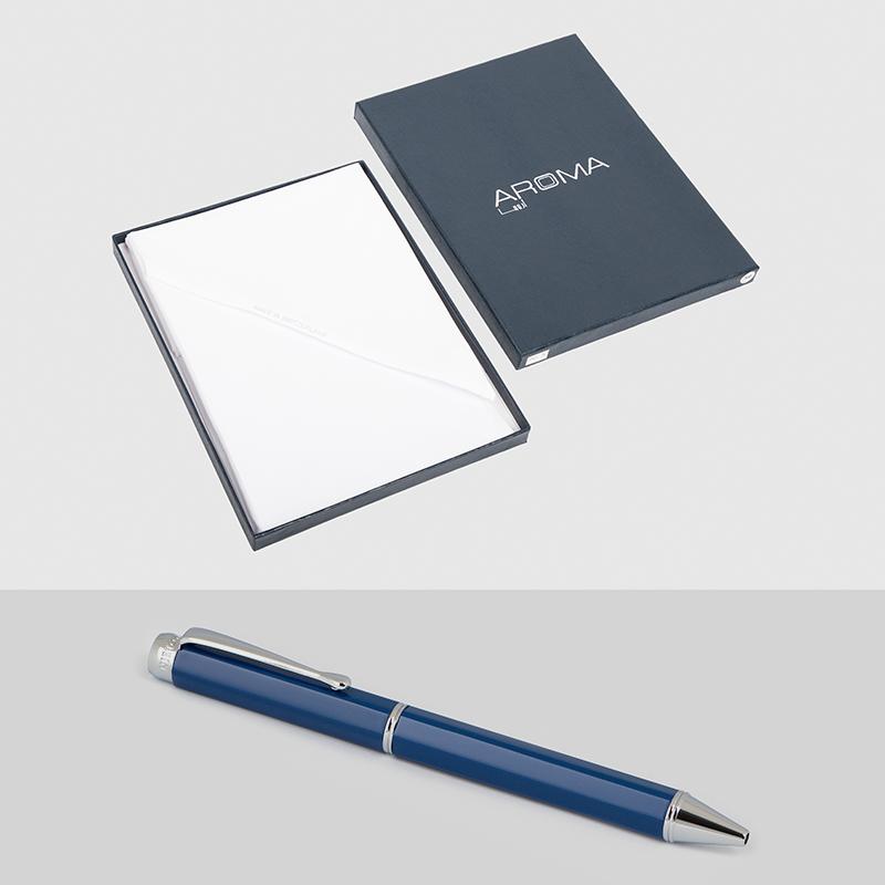 غترة أروما بيضاء فريدة قلم نيتو مارانى أزرق فضى