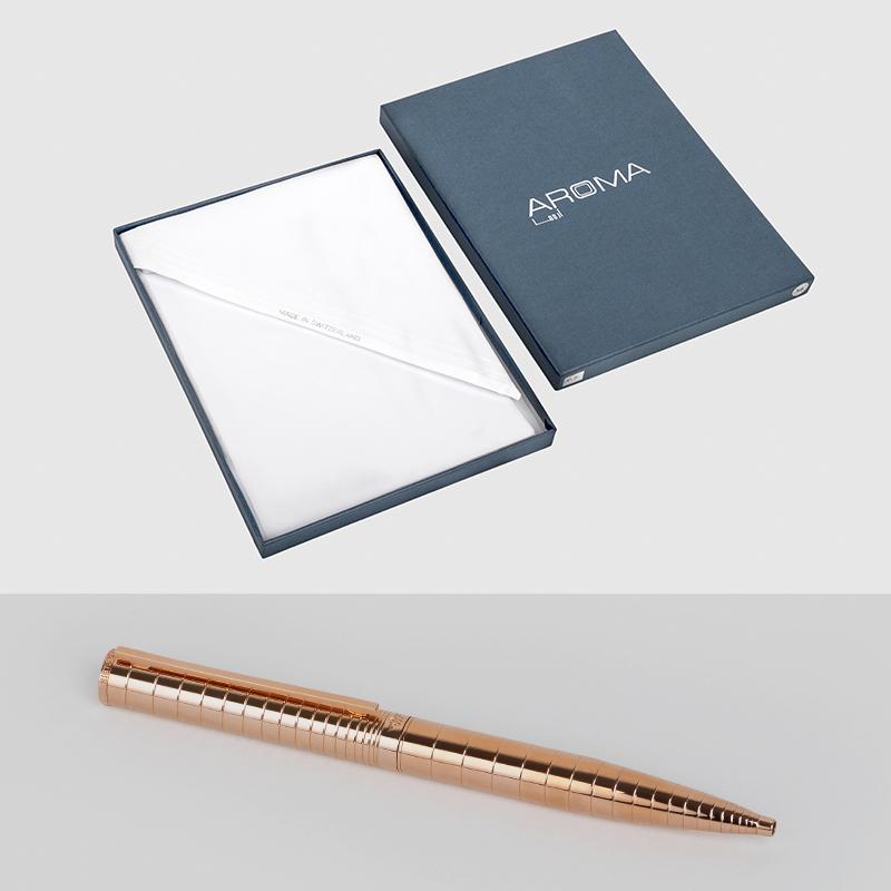 غترة اروما مع قلم نيتومراني