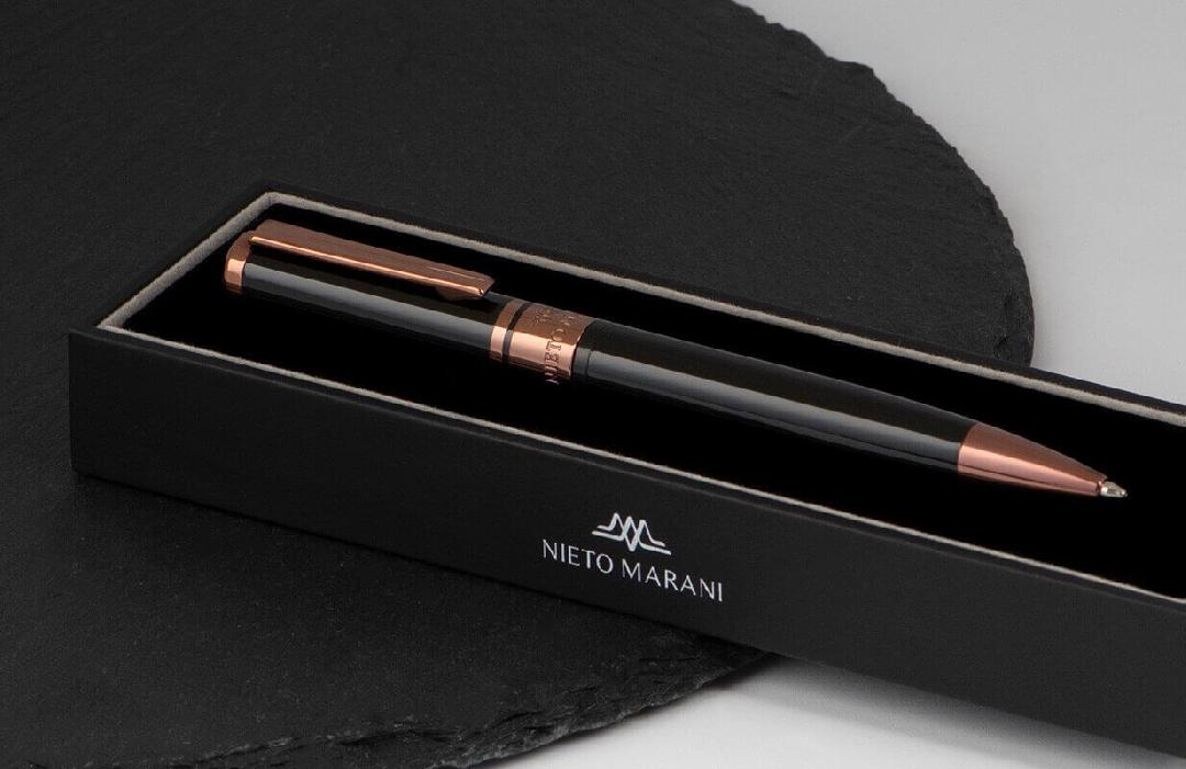 قلم نيتو ماراني أسود برأس نحاسي