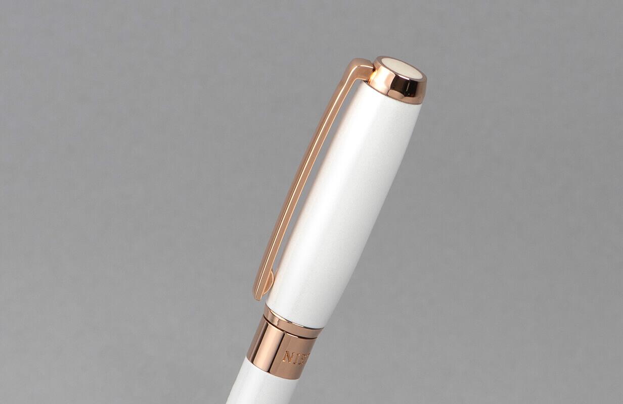 قلم نيتو ماراني ابيض وروزذهبي