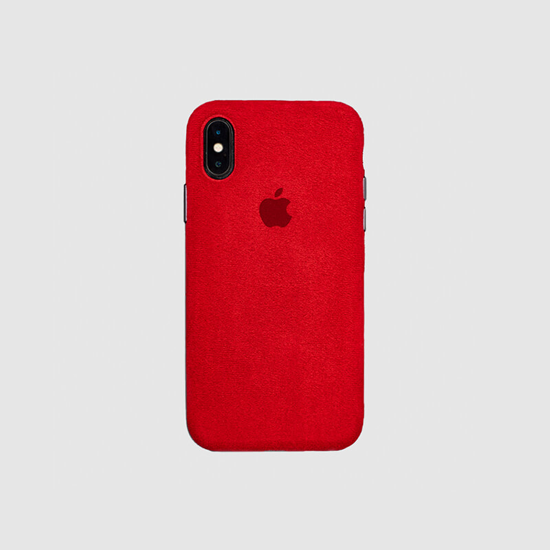 Macro Red Case Cover for IPhone X