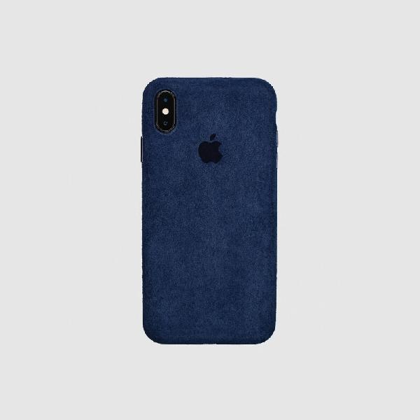 COVER IPHONE X MACRO NAVY BLUE