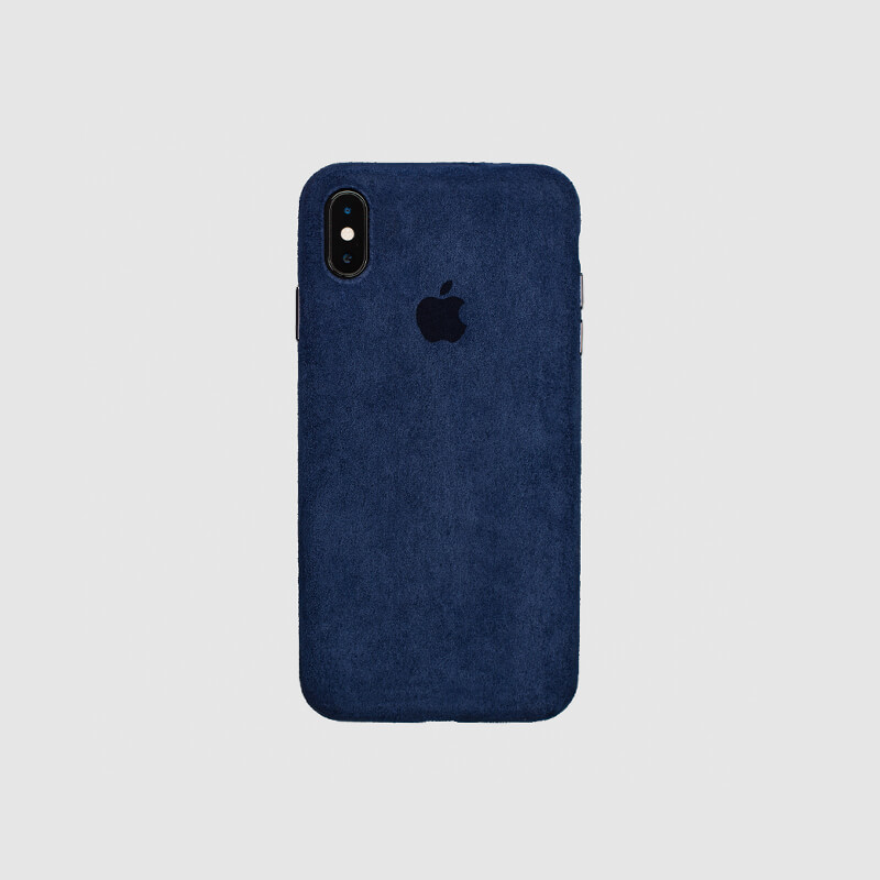 COVER IPHONE X MACRO NAVY BLUE