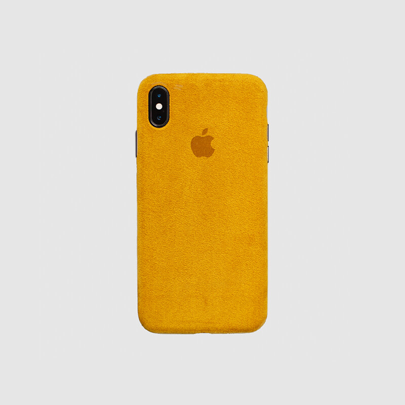 Macro Yellow Case Cover for IPhone X