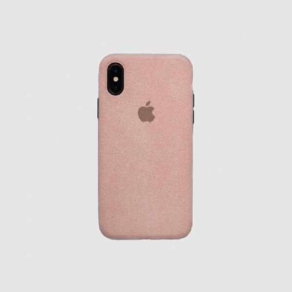COVER IPHONE X MACRO ROSE