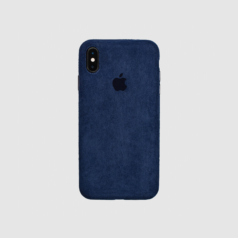 COVER IPHONE XMAX MACRO NAVY BLUE