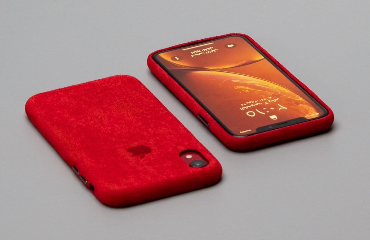Macro Red Case Cover for IPhone XR