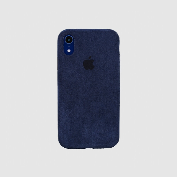 COVER IPHONE XR MACRO NAVY BLUE