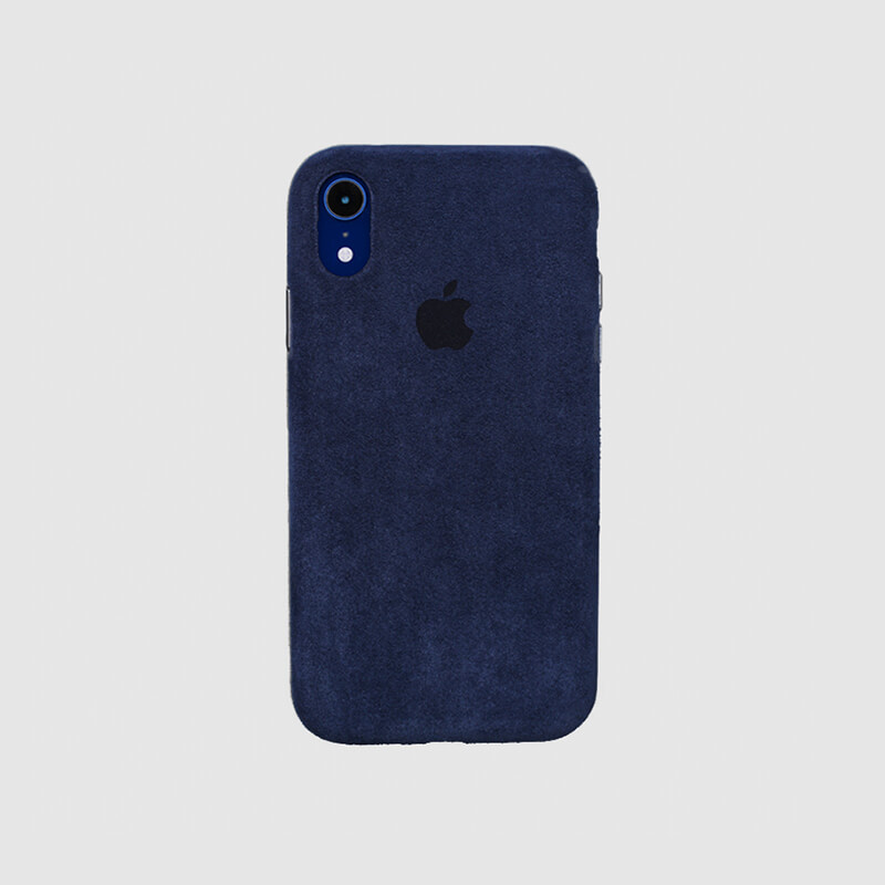 Macro Navy Blue Case Cover for IPhone XR