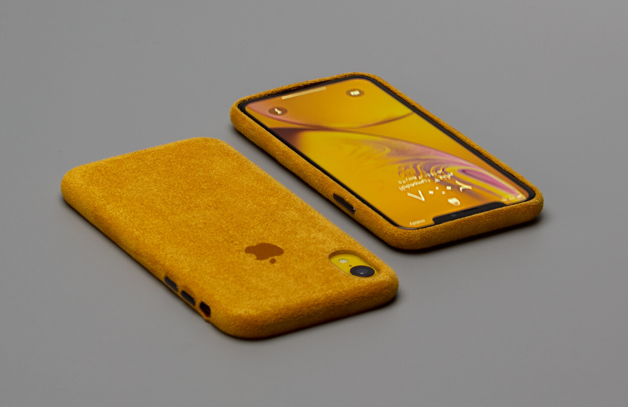 Macro Yellow Case Cover for IPhone XR