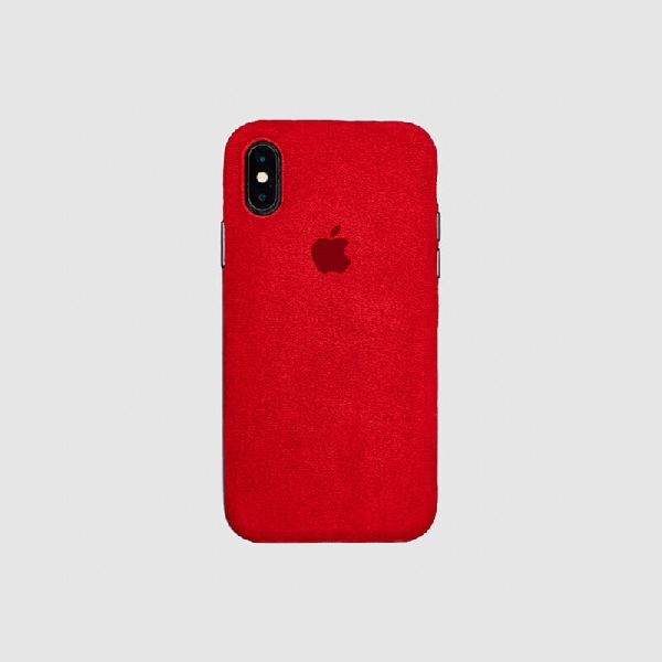 COVER IPHONE XS MACRO RED