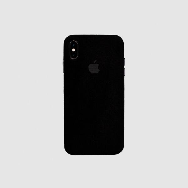 COVER IPHONE XS MACRO BLACK