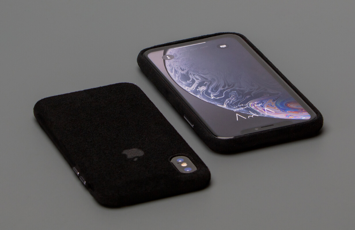Macro Black Case Cover for IPhone XS