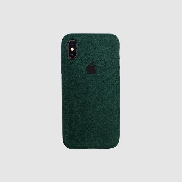 COVER IPHONE XS MACRO GREEN
