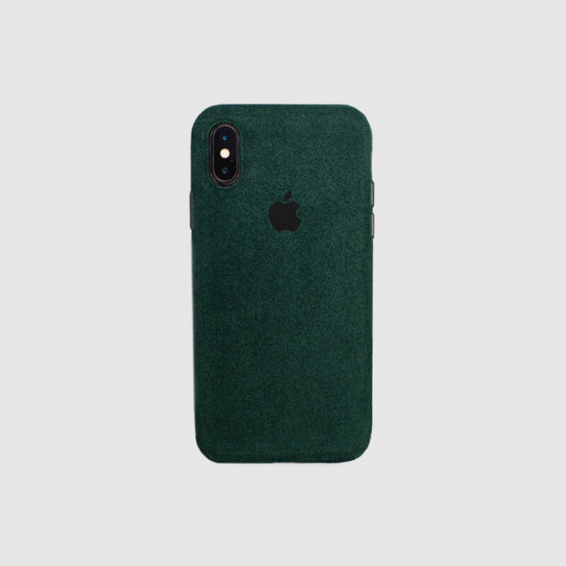 COVER IPHONE XS MACRO GREEN