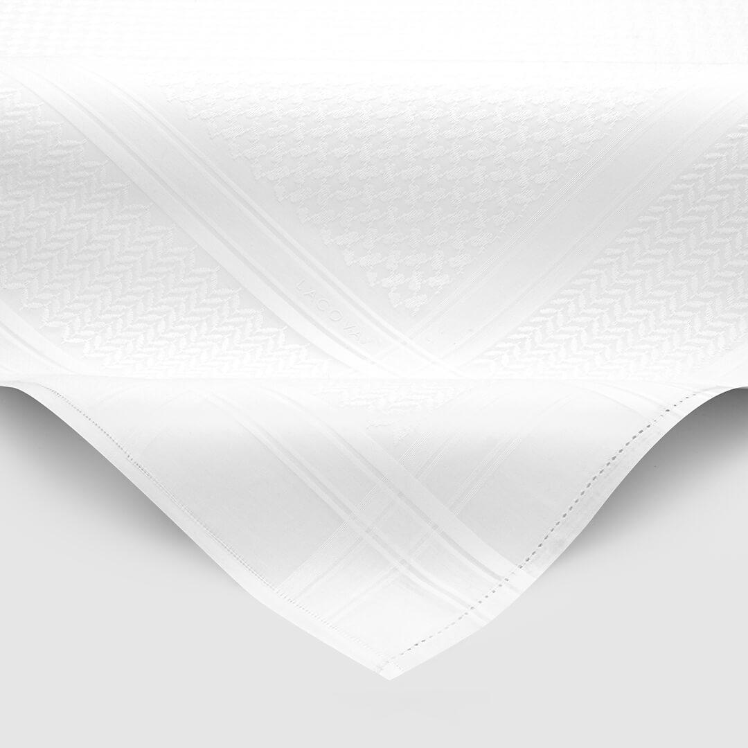 شماغ لاكوفا أبيض 2021
