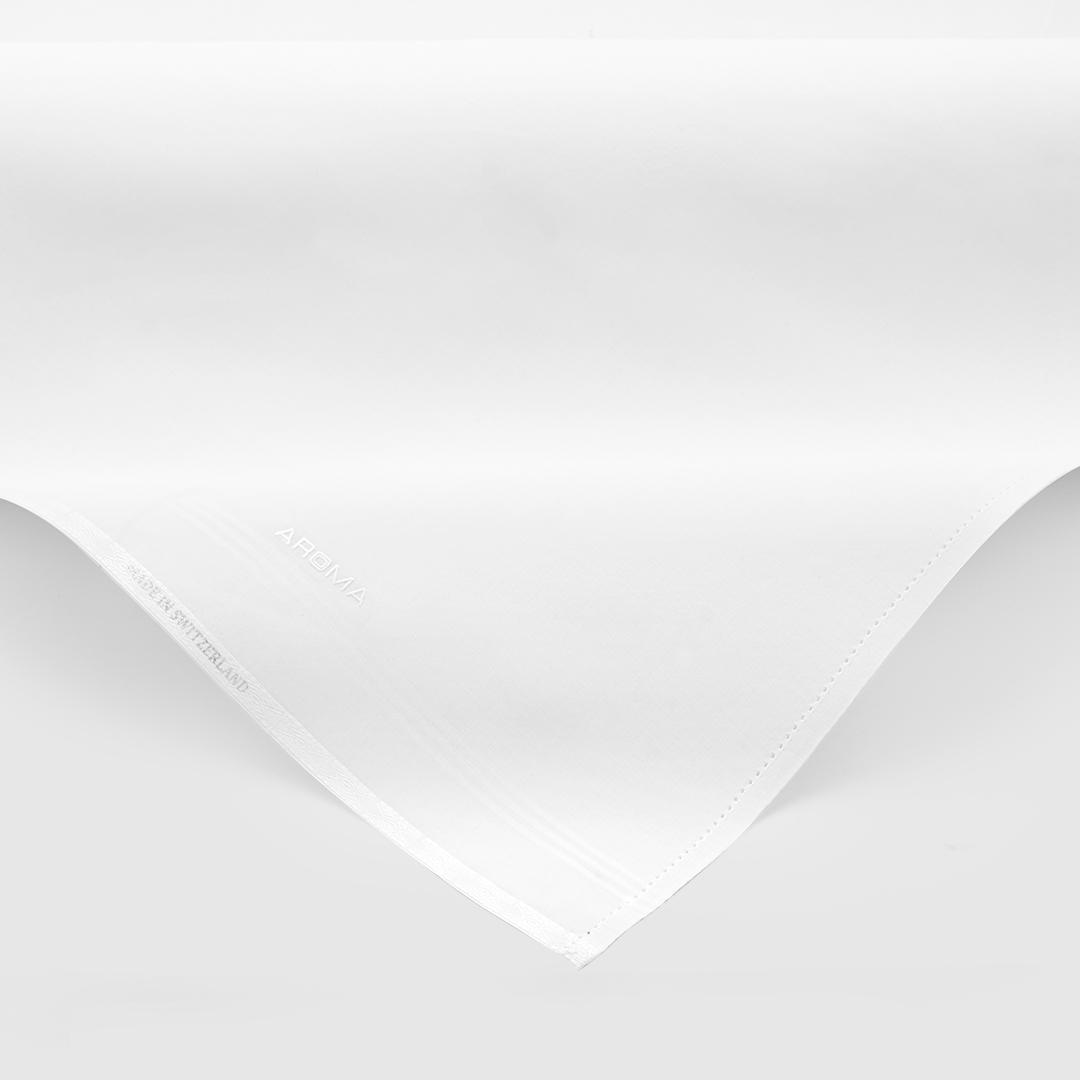 شماغ إيفنتو أحمر بخطوط ناعمة مع غترة أروما بيضاء فاخرة