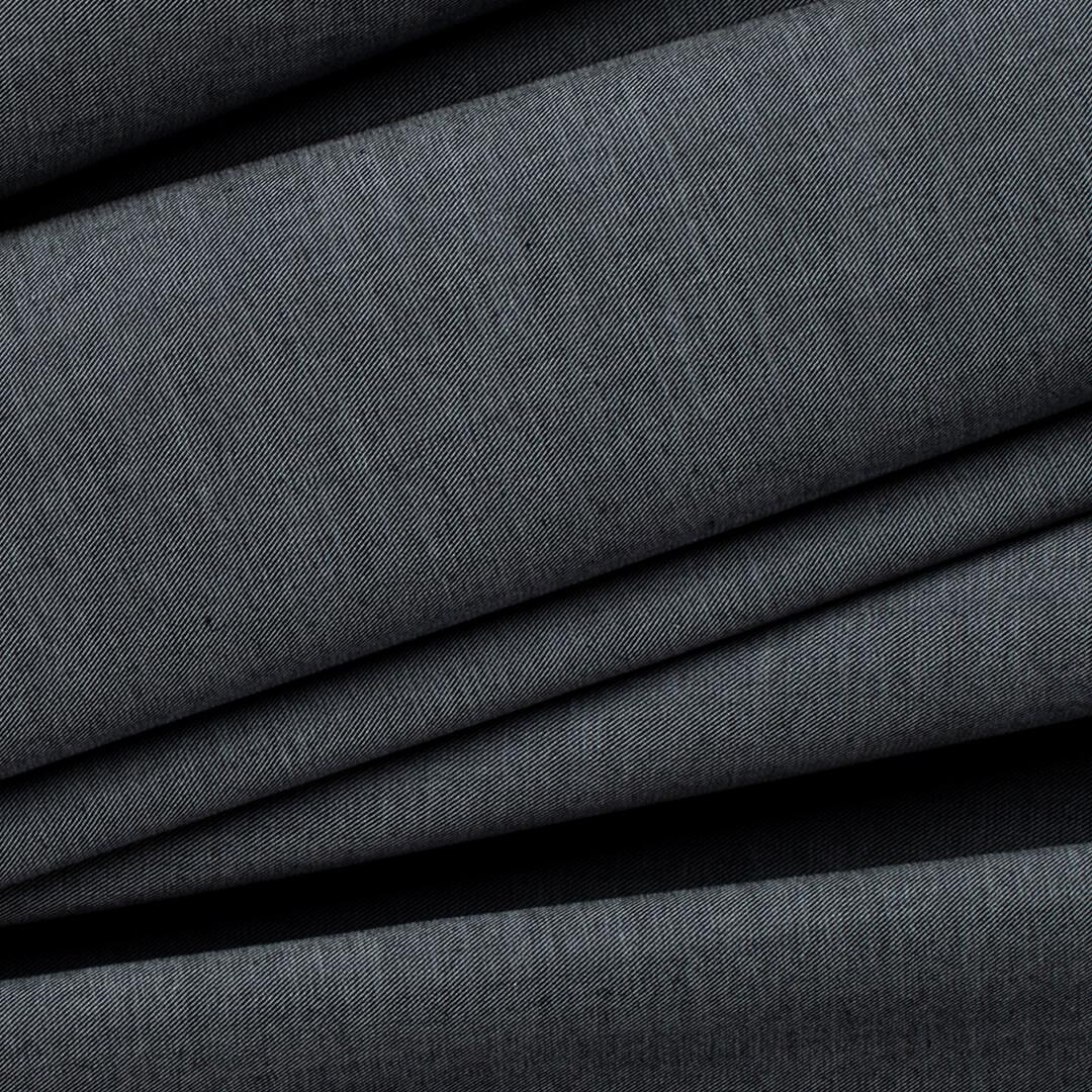 قماش أسود رمادي خشن
