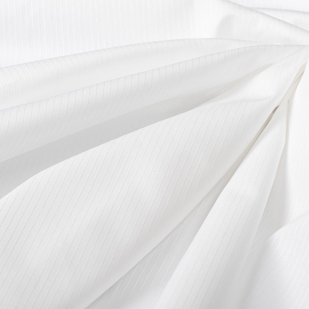 قماش ابيض مخطط خطوط مستقيمة