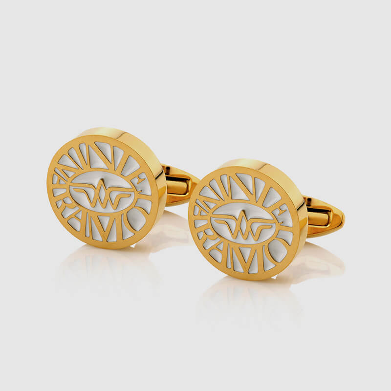 CUFFLINKS WHITE GOLD - NIETO MARANI