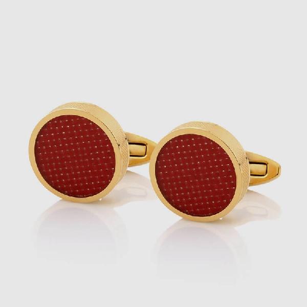 CUFFLINKS RED GOLD - NIETO MARANI