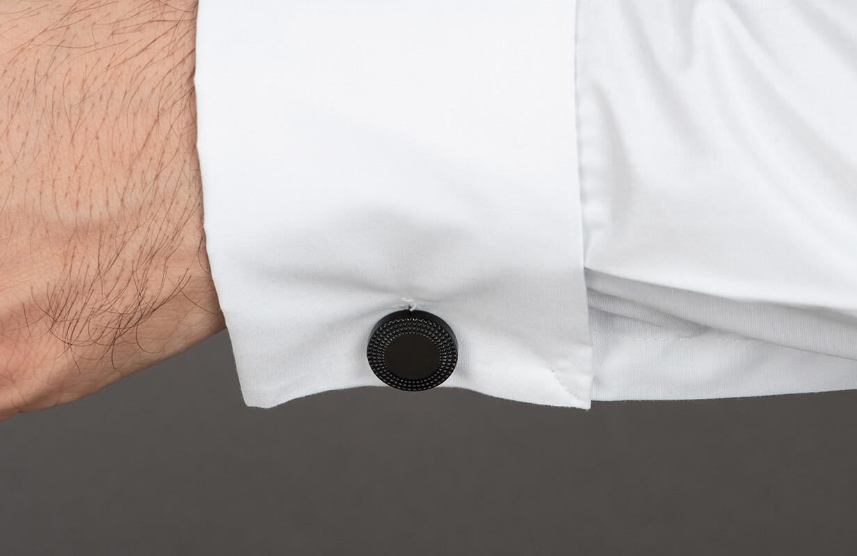 Black Cufflinks with decoration - NIETO MARANI