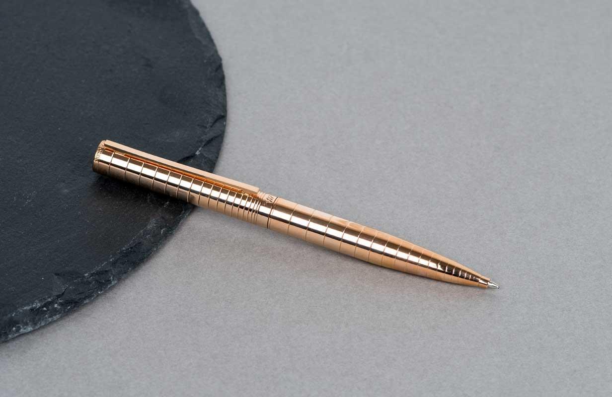 قلم بحلقات ذهبي روز  - نيتو ماراني