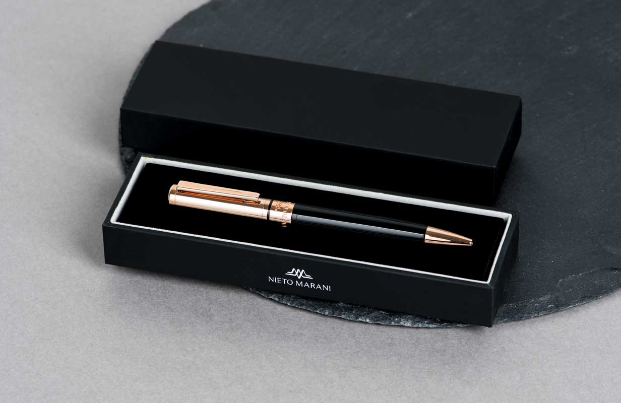 قلم اسود ذهبي روز - نيتو ماراني