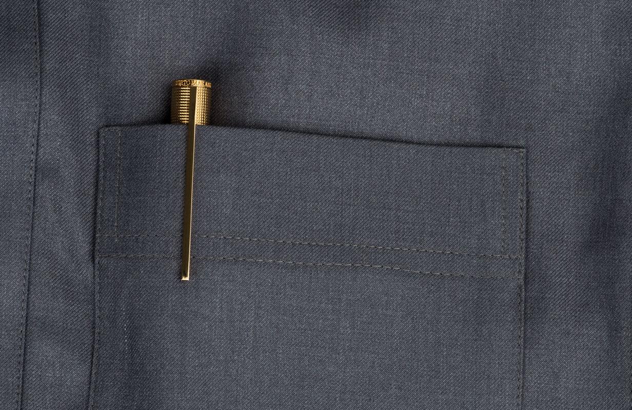 قلم ابيض براس ذهبي  - نيتو ماراني