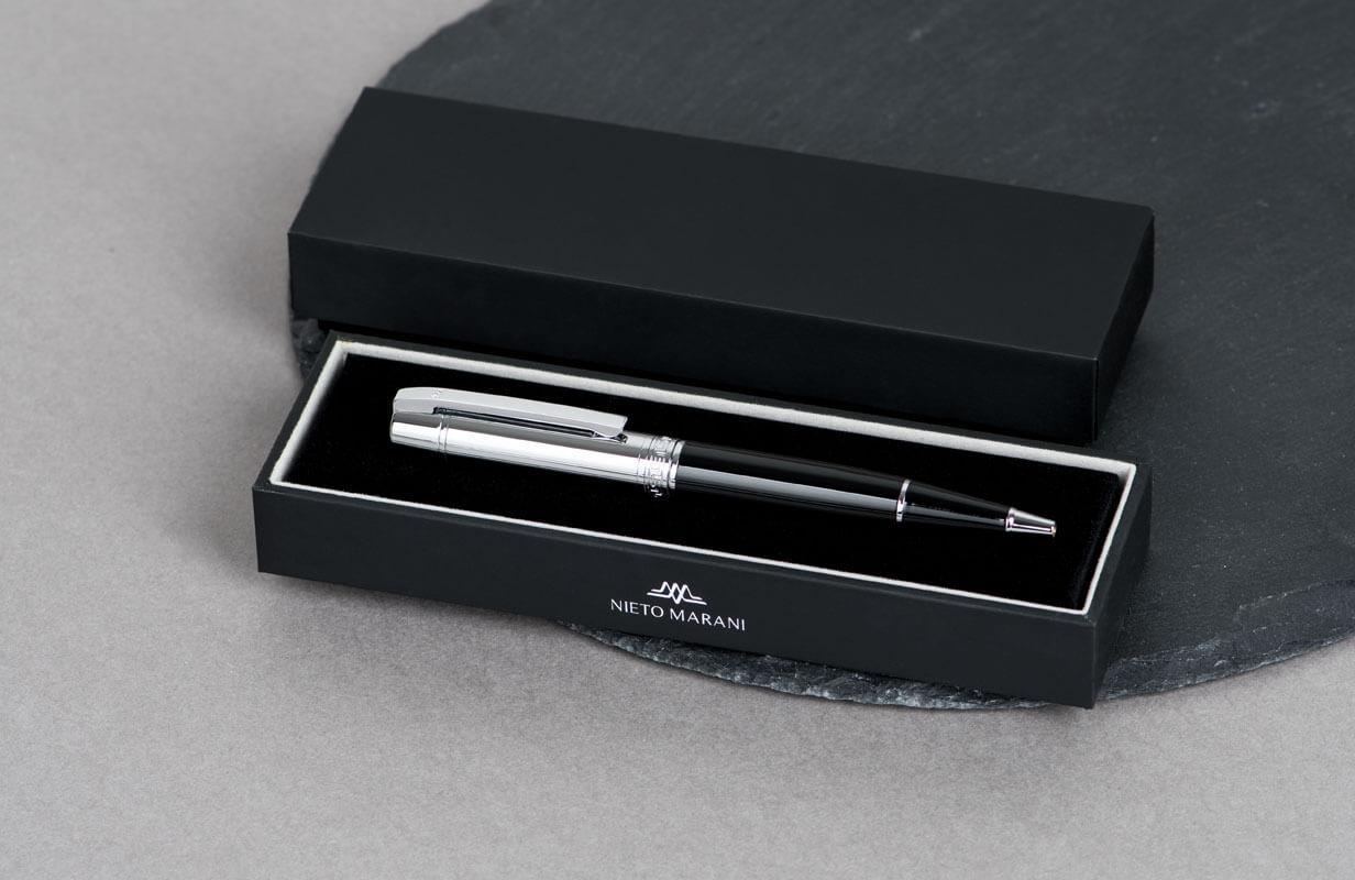 قلم براس فضي بارز - نيتو ماراني