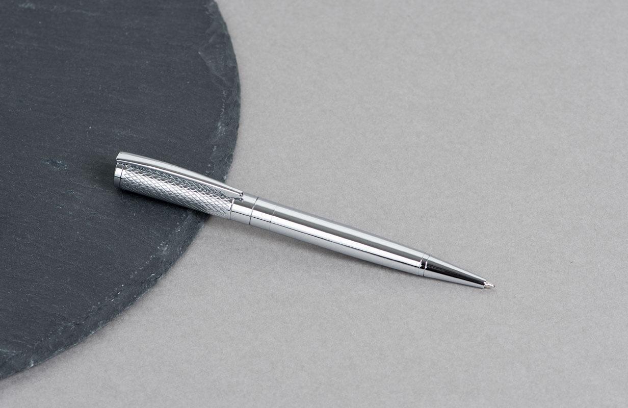 قلم منقوش براس فضي منقوش - نيتو ماراني