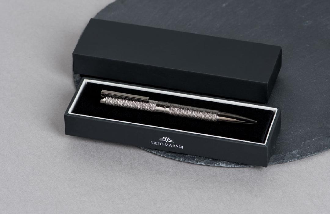 قلم نيتو ماراني منقوش رصاصي