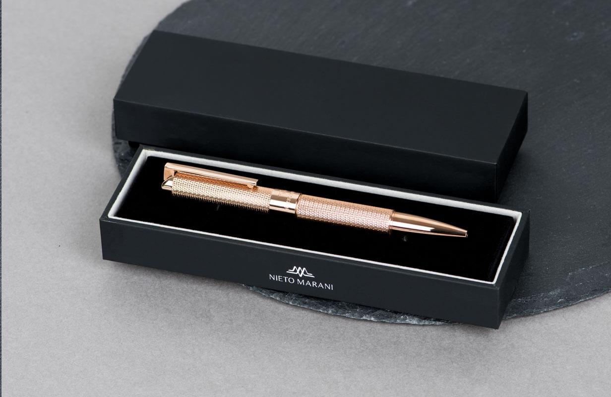 قلم نيتو ماراني ذهبي روز