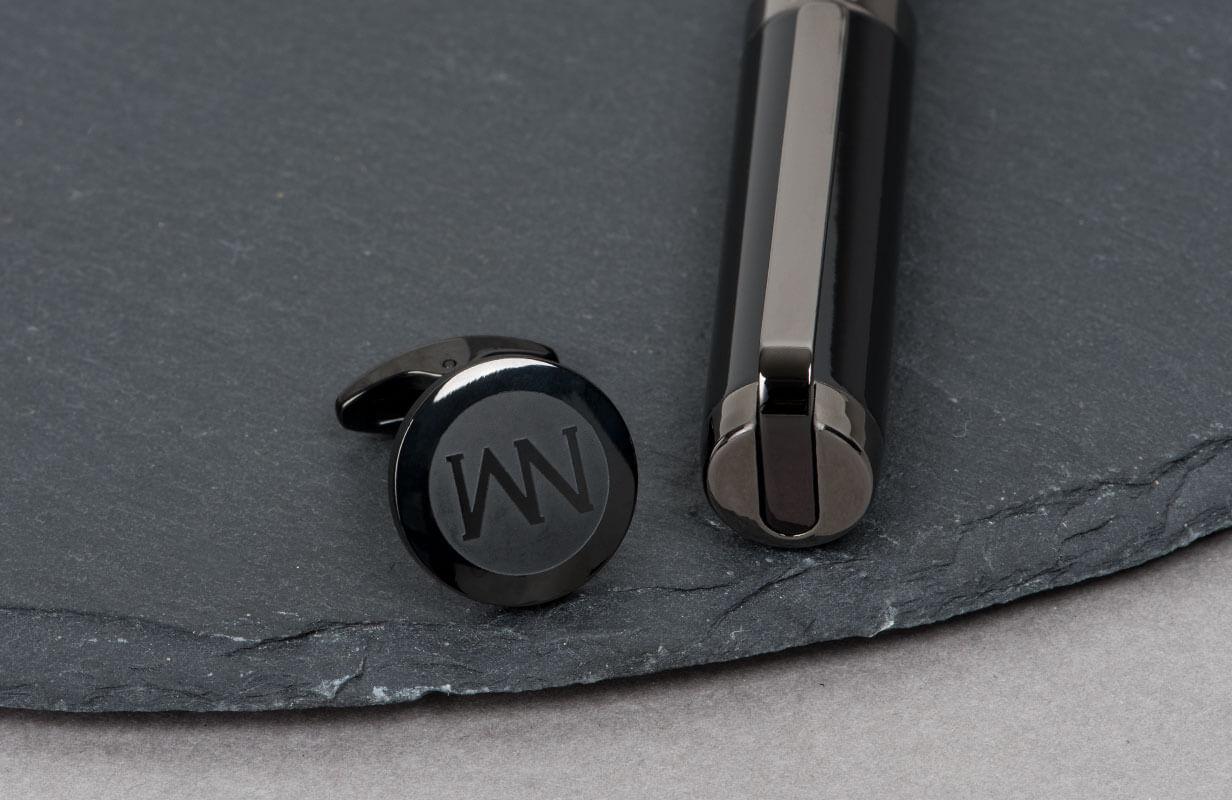 Black Set with Brand Name - NIETO MARANI