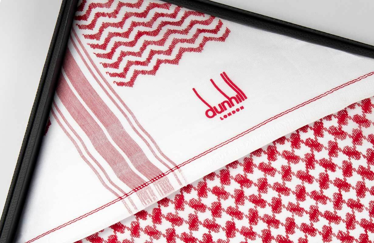 Red DUNHILL Shemagh 2020
