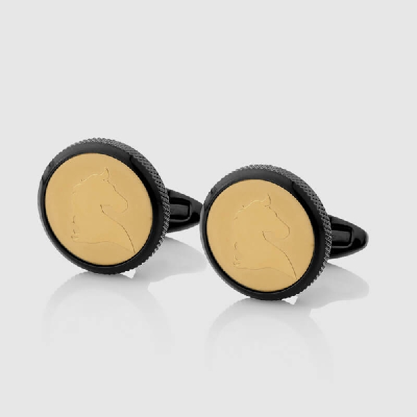 CUFFLINKS BLACK GOLD - NIETO MARANI