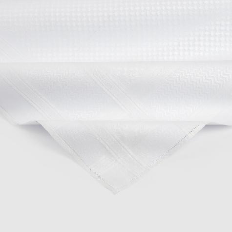 White CLASSIC GENEVA Shemagh