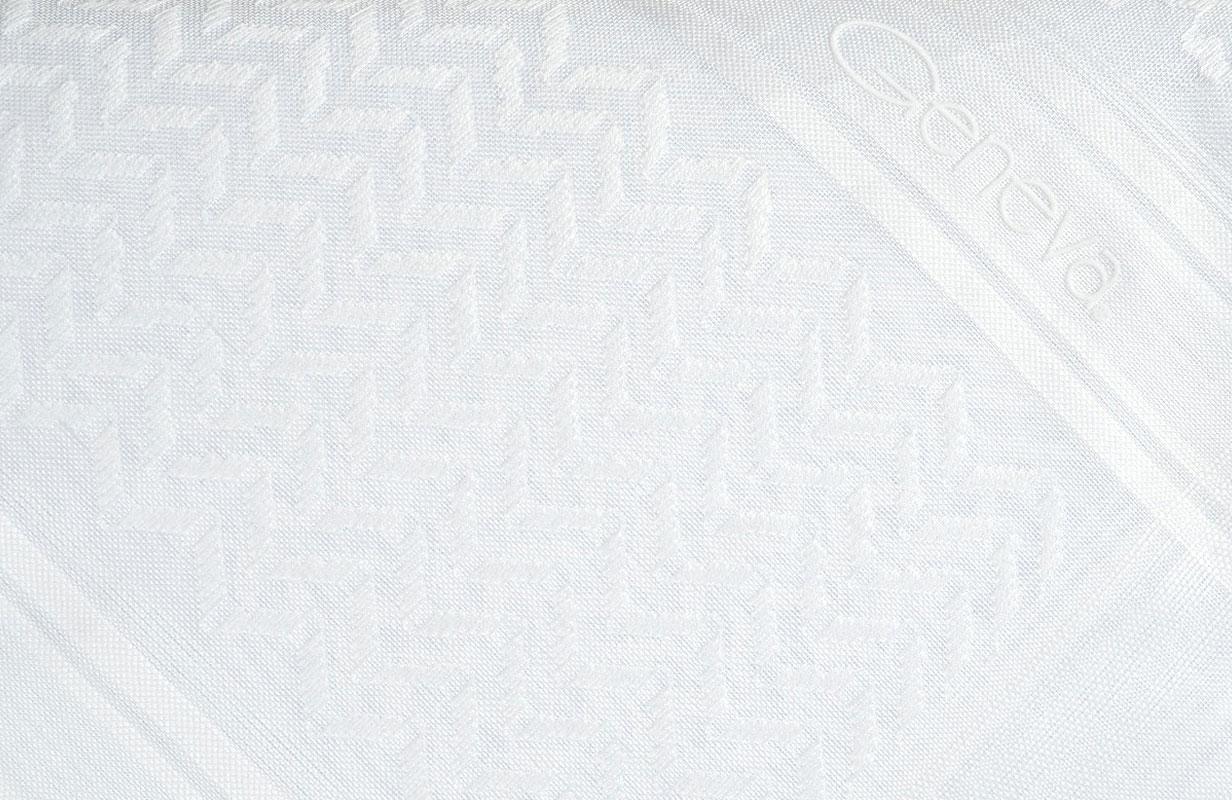 شماغ جنيفا أبيض كلاسيك