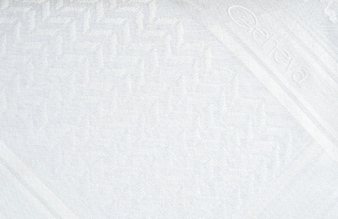 شماغ جنيفا كلاسيك أبيض