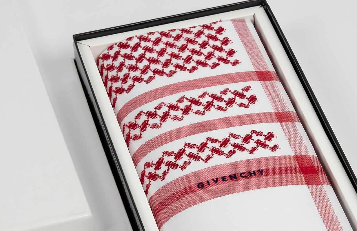 New Red Givenchy Shemagh 2020
