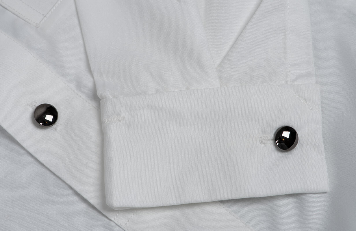 Cufflink Buttons White Boys Thobe Costume
