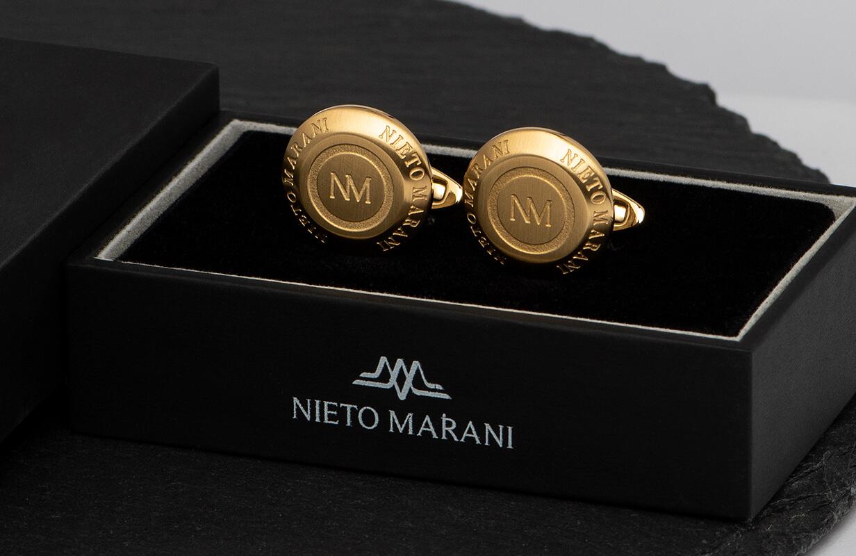 كبك نيتو ماراني ذهبي مختوم بالماركة