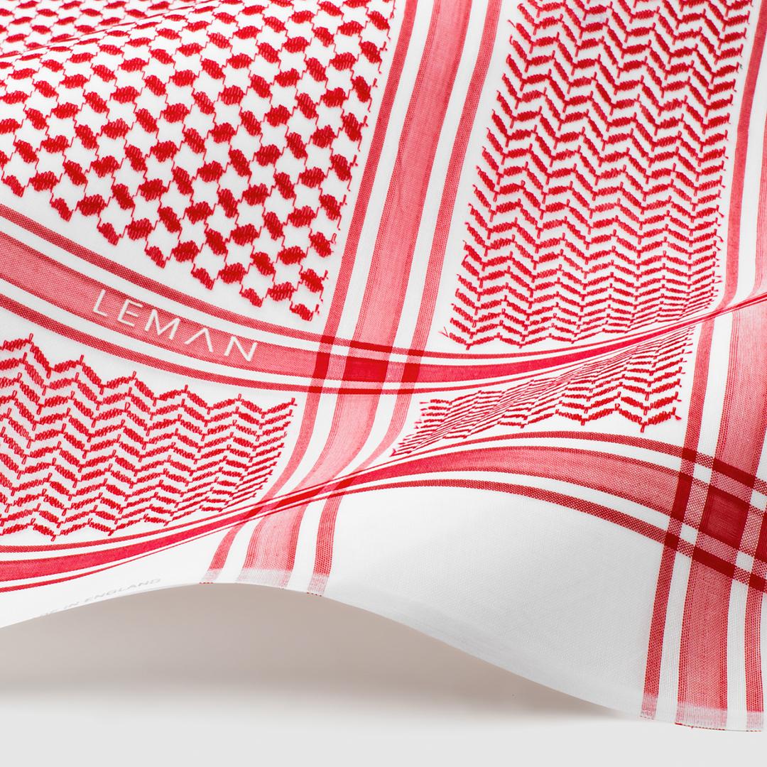 شماغ أحمر ـ ليمان