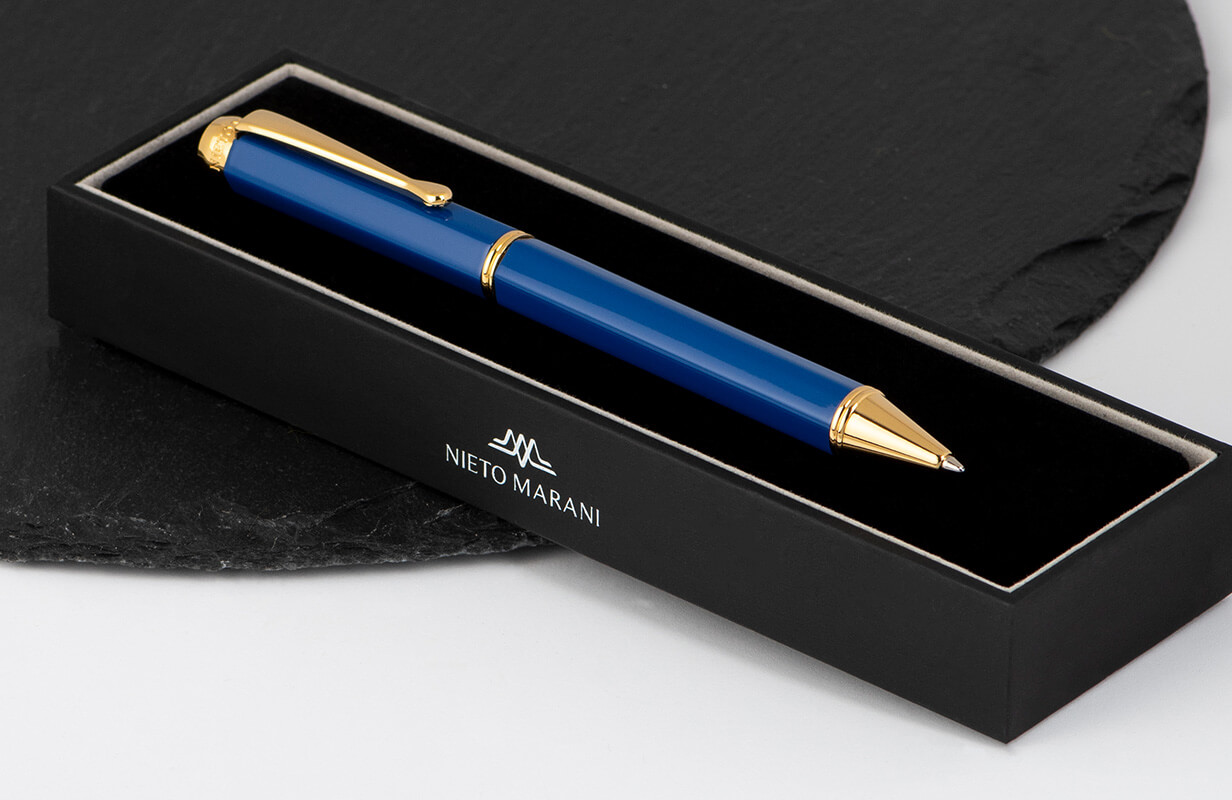 قلم أزرق ذهبي - نيتو ماراني