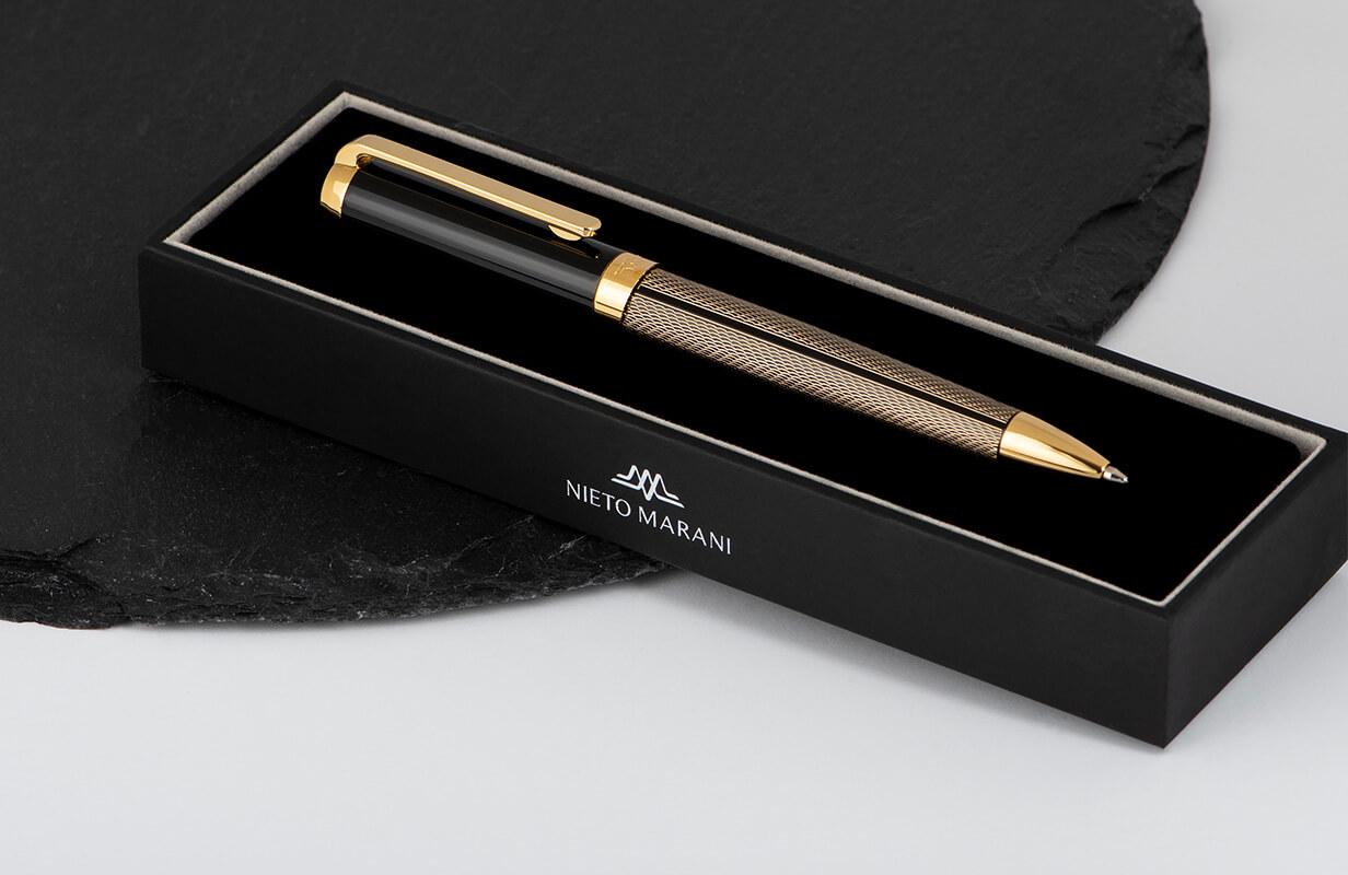 قلم أسود منقوش  - نيتو ماراني