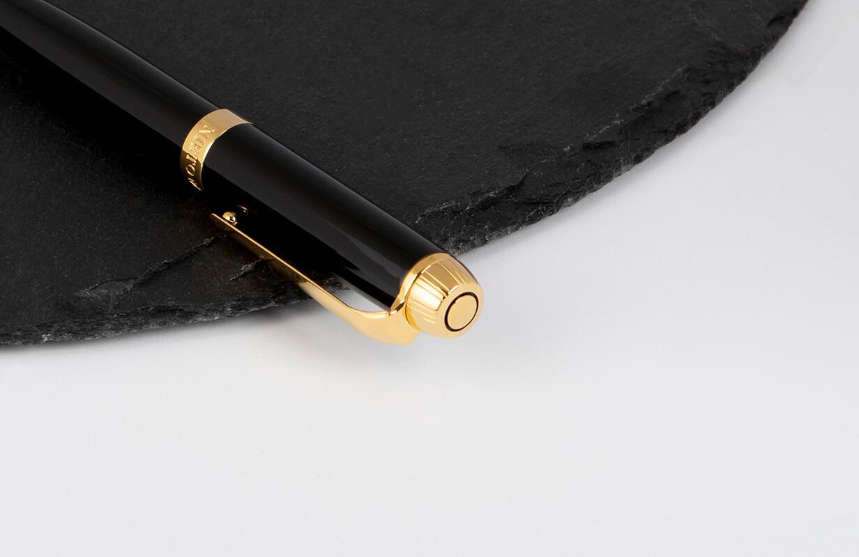 قلم أسود ذهبي سادة- نيتو ماراني